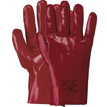 Rokavica boxer pvc rdeča / 35