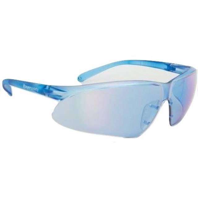 Očala StayerSafety® 505 / smart mirror modra - sončna
