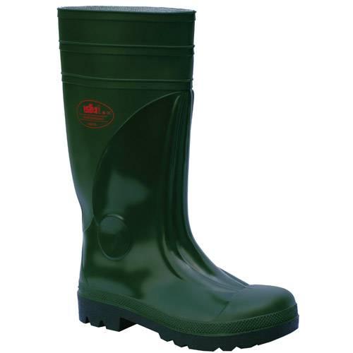 Škornji pvc zeleni / S5