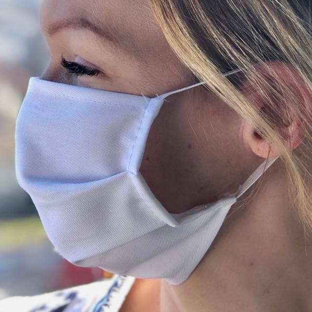 Maska PLUS® / bombažna / pralna